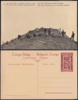 Congo Belge  - Entier Postal Nr. 43 - Est Africain Allemand-Occupation Belge- Un Des Sommets Du Mont Lubafu  (DD) DC1771 - Entiers Postaux