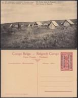 Congo Belge  - Entier Postal Nr. 23 - Est Africain Allemand-Occupation Belge-Un Camp Dans Le Ruanda  (DD) DC1776 - Postwaardestukken