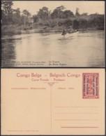 Congo Belge  - Entier Postal Nr. 21 - Est Africain Allemand-Occupation Belge- La Kagera  (DD) DC1777 - Postwaardestukken