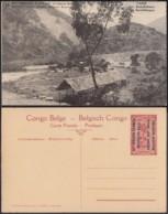 Congo Belge  - Entier Postal Nr. 18 - Est Africain Allemand-Occupation Belge- SAKE - Les Installations   (DD) DC1779 - Postwaardestukken