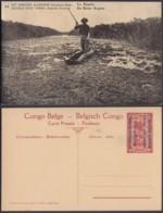 Congo Belge  - Entier Postal Nr. 15 - Est Africain Allemand-Occupation Belge- La Kagera   (DD) DC1782 - Postwaardestukken