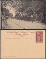 Congo Belge  - Entier Postal Nr. 47 - Est Africain Allemand-Occupation Belge- Entrée Des Belges à Tabora  (DD) DC1785 - Entiers Postaux