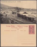 Congo Belge - Entier Postal Nr. 38 - Est Africain Allemand-Occupation Belge - KIGOMA  (DD) DC1793 - Entiers Postaux
