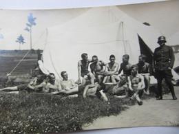 SEMI - NUDE   Soldiers Photo  GAY INTEREST  Latvia / Lettland 1930ies - Nu Masculin < 1945