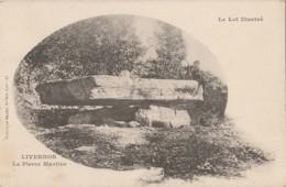U6-46) LIVERNON (LOT)  LA PIERRE MARTINE - (ANIMEE - 2 SCANS) - Livernon