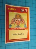 "1576-1600 : TRADING CARD 1991 JEU ""CANAILLES"" PANINI / GRIMACE - OREILLES DECOLLEES - Trading Cards"