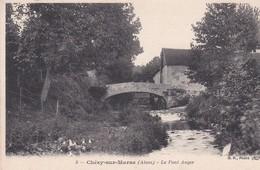 CHEZY SUR MARNE (02) Le Pont Auger - France