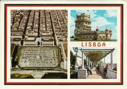 Lisbona (Lisboa, Portugal) Views, Vues, Vedute E Scorci Panoramici - Lisboa