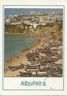 Albufeira (Algarve, Portugal) Playa, The Beach, La Plage, Der Strand, Spiaggia Con Barche - Portogallo