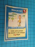 """1576-1600 : TRADING CARD 1991 JEU """"CANAILLES"""" PANINI / MEME PAS MAL - Trading Cards"""