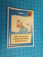 """1576-1600 : TRADING CARD 1991 JEU """"CANAILLES"""" PANINI / LOUPé - Trading Cards"""