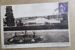 NEVERS - La Loire, Vue Prise Des Petits Jardins ( 58 Nievres ) - Nevers