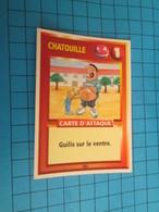 """1576-1600 : TRADING CARD 1991 JEU """"CANAILLES"""" PANINI / CHATOUILLE - GUILIS SUR LE VENTRE - Altri"""