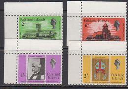 Falkland Islands 1969 Bischop Stirling 4v (corners) ** Mnh (41755A) - Falklandeilanden