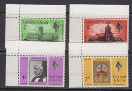 Falkland Islands 1969 Bischop Stirling 4v (corners) ** Mnh (41755B) - Falklandeilanden