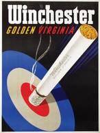 @@@ MAGNET - Winchester Golden Virginia - Publicitaires
