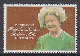 Falkland Islands 1980 80th Birthday Queen Mother 1v ** Mnh (41754F) - Falklandeilanden