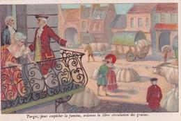 1900,2 Publicités Bonzel à Haubourdin Chicorée La Bergère:TURGOT ET WASHINGTON - Chromos