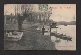 CPA. Dépt.77. CHELLES . Le Vieux Moulin . Pêcheur à La Ligne - Chelles
