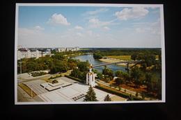 Transnistria (PRIDNESTROVIE). Tiraspol  AERIAL VIEW WITH TANK MONUMENT - 2012 - Moldavie