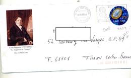 Pap Football Flamme Bry Louis Daguerre Illustré  Portrait - Postal Stamped Stationery