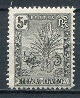 1903 -MADAGASCAR-RARE 5 FR.BLACK-M.N.H. - 1 VAL.LUXE !! - Madagascar (1889-1960)