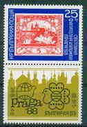 + 3718 Bulgaria 1988 PRAGA 88 International Stamps Exhibition ** MNH / Internationale Briefmarkenausstell PRAGA 88 Prag - Nuovi