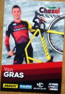 Cyclisme - Carte Yan GRAS Cyclo-Cross 2019 - Cycling