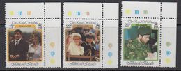 Falkland Islands 1986 Royal Wedding Of Prince Andrew 3v (corners) ** Mnh (41756B) - Falklandeilanden