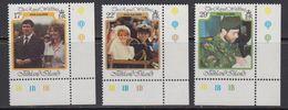 Falkland Islands 1986 Royal Wedding Of Prince Andrew 3v (corners) ** Mnh (41756C) - Falklandeilanden