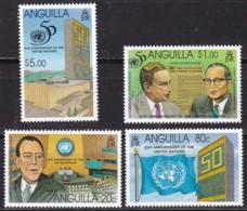 Anguilla,1995, 947/50, 50 Jahre Vereinte Nationen (UNO), MNH ** - Anguilla (1968-...)