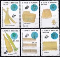 Sao Tomé Und Principe, 1995, 1531/36, 50 Jahre Vereinte Nationen (UNO).  MNH ** - Sao Tomé E Principe
