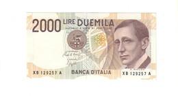 2000 Lire Marconi Serie Sostitutiva Xb 1992 Sup LOTTO 2063 - [ 2] 1946-… : Republiek