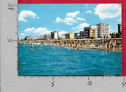 CARTOLINA VG ITALIA - RICCIONE (RN) - Alberghi Visti Dal Mare - 10 X 15 - ANN. 1967 - Rimini