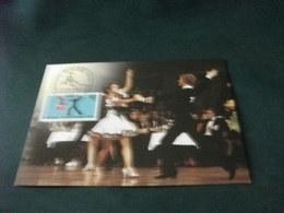 STORIA POSTALE  FRANCOBOLLO GERMANIA BERLINO BALLO DANZA  MAXIMUM - Danze
