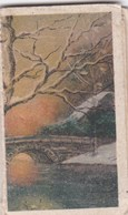 Calendrier 1931 Petit Almanach , 1 Page Par Mois , Dessin Comme Paysage Peint A La Main - Calendriers