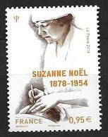 France 2018 N° 5203 Neuf Suzanne Noël Faciale +10% - Francia