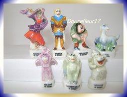 Le Bossu De Notre Dame ...Lot De 7 Fèves ...Ref AFF : 32-1998 ... (pan 0029) - Disney