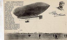 L'Aeronef Malecot  -  Ballon  -  CPA - Fesselballons