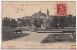 CPA- Hôtel Des Postes Et Télégraphes- Saïgon- 1905- 2scans - Viêt-Nam