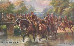 Cavalerie Traversant La Rivière Illustration De H. PAYNE - Personnages