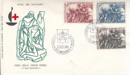 Vaticano - FDC Croce Rossa (1964) - FDC