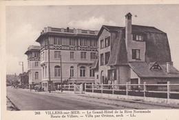 VILLERS SUR MER (14) Le Grand Hôtel De La Rive Normande . Route De Villers . (Architecture :  VILLA Par ORIEM ) - Villers Sur Mer