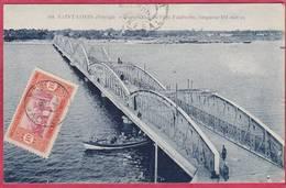 CPA SENEGAL SAINT LOUIS  Perspective Du Pont Faidherbe  Longueur 511 Mètres  St - Senegal