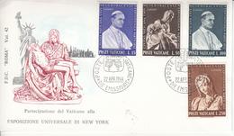 Vaticano - FDC Esposizione Di New York (1964) - FDC