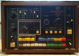 RARA VINTAGE ( 1978 ) - ROLAND CR - 78 - ANALOG RHYTHM CR 78 DRUM MACHINE - BATTERIA ELETTRONICA INCLUSO PEDALE - Instrumentos De Música