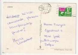 Prentkaart Uit 1993 Uit Engeland Met Fort Zegel - Belgique