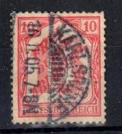 """1905 Deutsches Reich  /DR, Mi.-Nr. 12 , O Gestempelt/used, Super Stempel Karlsruhe 05,  """"Frei Durch Ablösung 16"""" S. Scan - Service"""