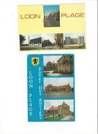 LOON PLAGE  LOT DE 2 CARTES  ****   A   SAISIR  ****** - Other Municipalities