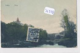 CPA- 36908 - Allemagne -Pütlitz Burg Mit Sonderbriefmarke- Franco De  Frais - Putlitz